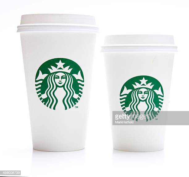 Grande and Tall Starbucks Coffee Cup