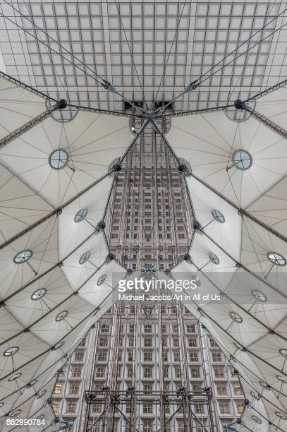 Grande Arche de La Défense a monument and building in the business district of La Défense and in the commune of Puteaux to the west of Paris Designed...