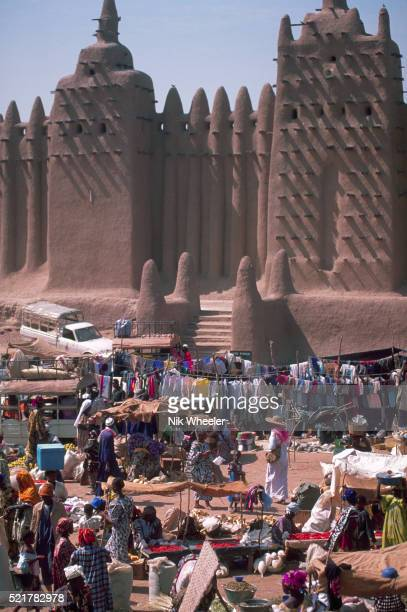 Grande Mosquee and Djenne Market