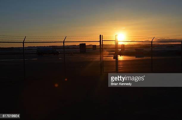Grande Prairie Airport Sunset