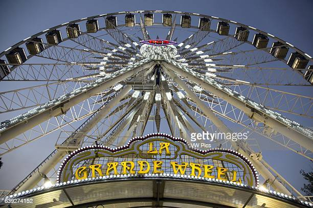 LA Grande Wheel Ferris Wheel Los Angeles County Fair Fairplex California USA