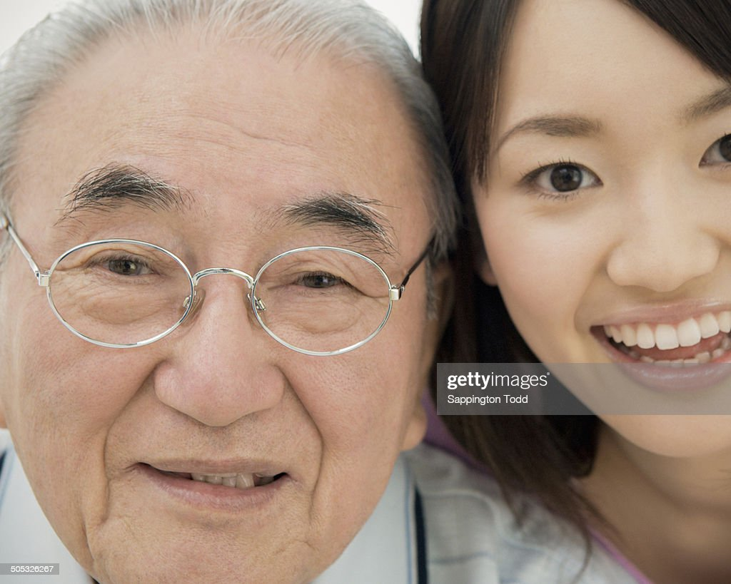 Grandfather And Granddaughter High-Res Stock Photo - Getty -7182