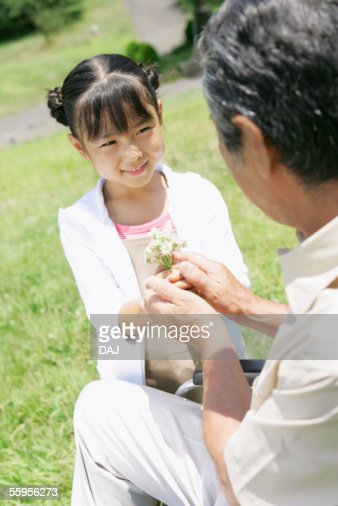 Grandfather And Granddaughter High-Res Stock Photo - Getty -7495