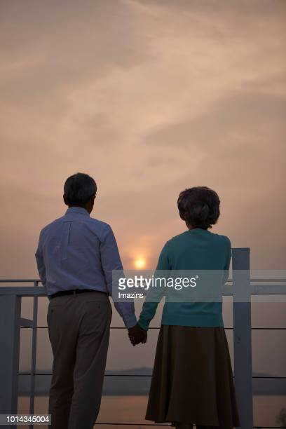 grandfather and grandmother in their twilight years - 65 69 years stock pictures, royalty-free photos & images