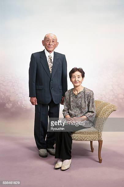 Grandfather and grandmother, Old couple
