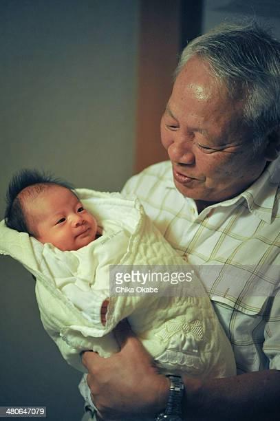 grandfather & granddaughter