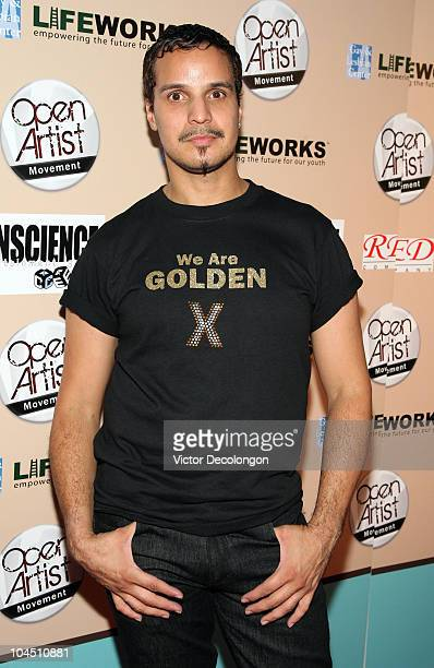 Grandfather Hector Xtravaganza arrives at We Are Golden Benefit Concert at Arena Nightclub on September 27 2010 in Los Angeles California