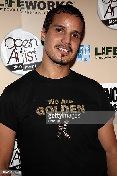 Grandfather Hector Xtravaganza attends We Are Golden benefit concert at Arena Nightclub on September 27 2010 in Hollywood California
