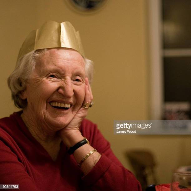 Grandma at Christmas