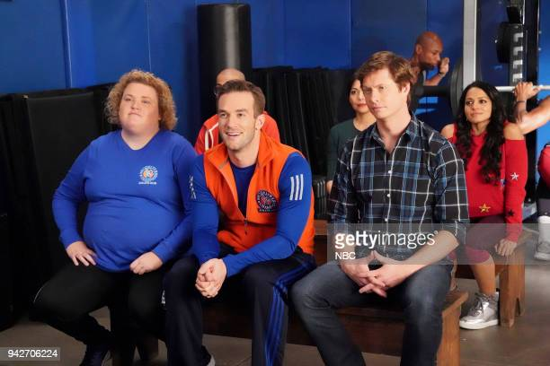 CHAMPIONS 'Grandma Dearest' Episode 106 Pictured Fortune Feimster as Ruby Andy Favreau as Matthew Anders Holm as Vince Mouzam Makkar as Brittany