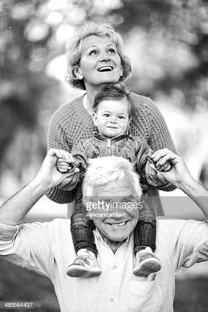 Grandma, grandpa and me