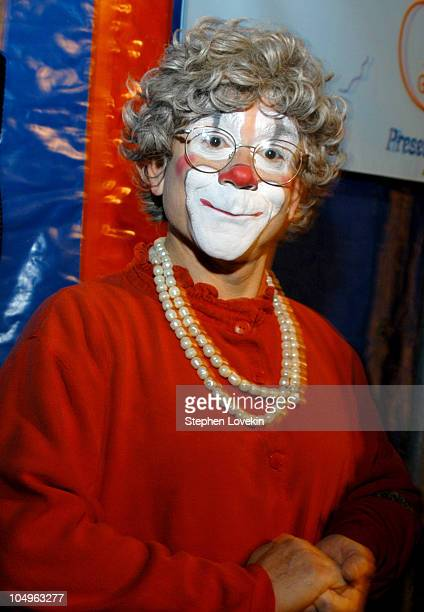 Grandma the clown during Big Apple Circus Opening Night Gala Benefit at Damrosch Park at Lincoln Center in New York City NY United States