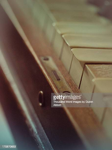 grandma's piano - dustin abbott stock pictures, royalty-free photos & images