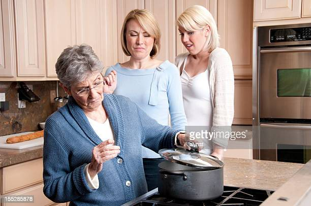 grandmas suprise cooking dish - terrified stock pictures, royalty-free photos & images