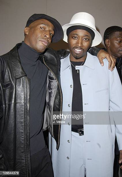 Grandmaster Flash and Eddie Griffin at the Backstage Creations Talent Retreat
