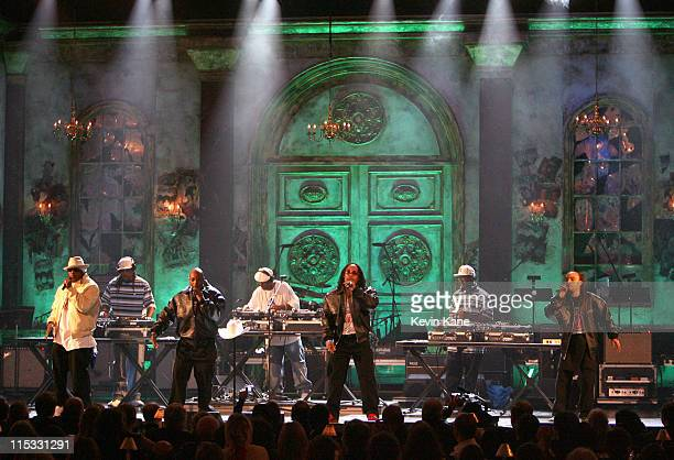 Grandmaster Flash and the Furious Five perform GMF and FF Medley