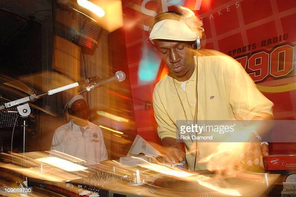 Grandmaster Flash during SE7EN Magazine Launches with Power Style Amid the Hottest Hoops Tournament in the World at The Glenn Hotel in Atlanta...