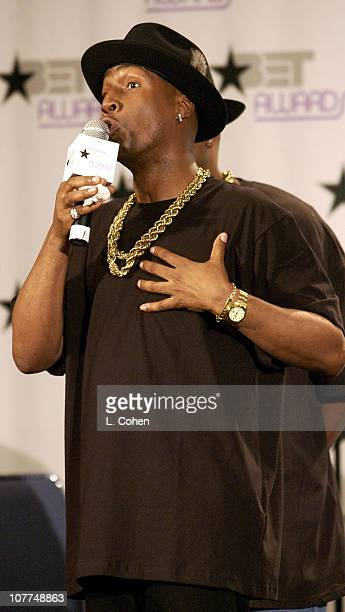 Grandmaster Flash during The 3rd Annual BET Awards Electronic Media Room at The Kodak Theater in Hollywood California United States