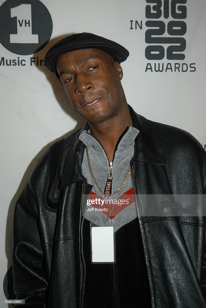 Grandmaster Flash during VH1 Big in 2002 Awards - Arrivals at Grand Olympic Auditorium in Los Angeles, CA, United States.