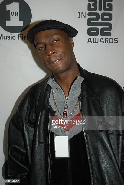 Grandmaster Flash during VH1 Big in 2002 Awards Arrivals at Grand Olympic Auditorium in Los Angeles CA United States
