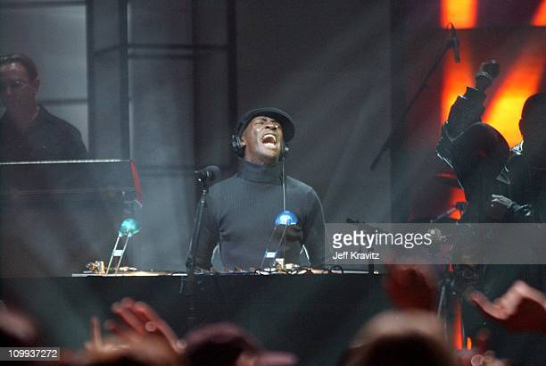 Grandmaster Flash during VH1 Big in 2002 Awards Show at Grand Olympic Auditorium in Los Angeles California United States