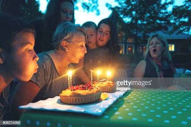 grandmother birthday - happy birthday canada stock pictures, royalty-free photos & images