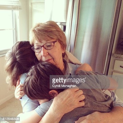Grandmother Hugs