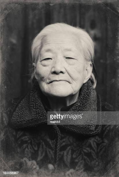 grandmother - chinese culture stock pictures, royalty-free photos & images