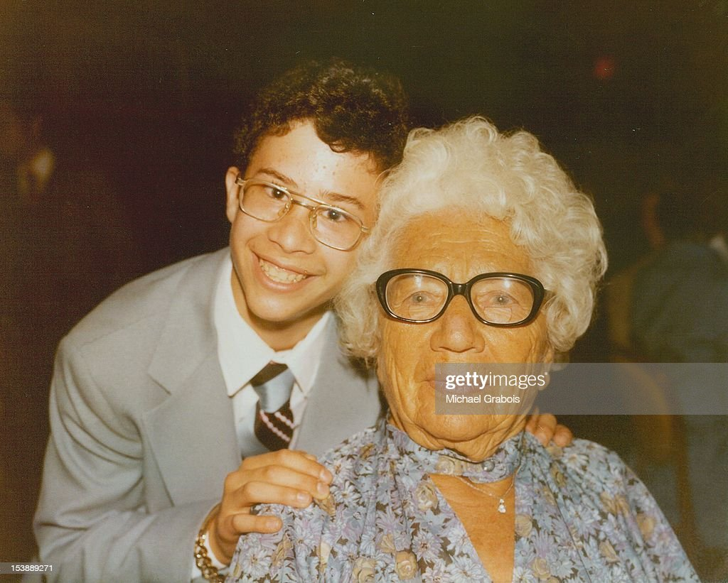 Grandmother with grandson : ストックフォト
