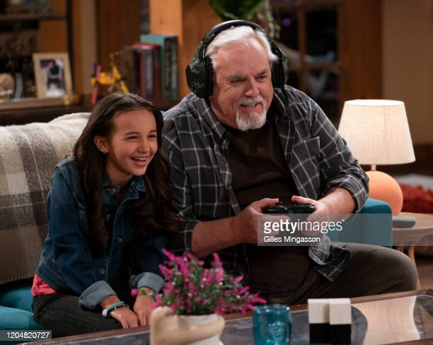 """Grandpa Moves In"""" - Raising the comedy stakes, the second season of the hybrid family sitcom/improvisation series """"Just Roll With It"""" is set to..."""