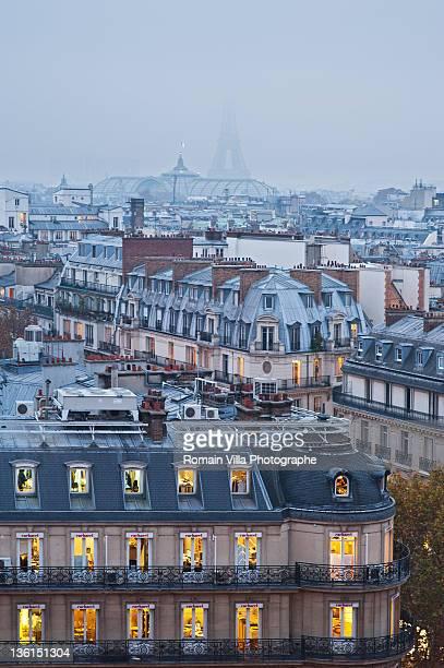 Grand-Palais et Tour Eiffel - Paris