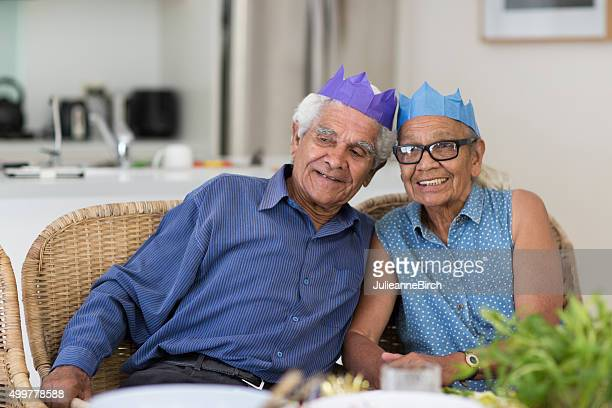 Grandparents  at Christmas