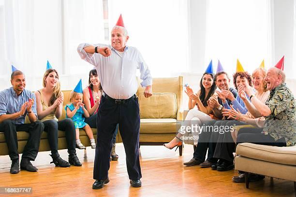 Baile de cumpleaños Grandpa