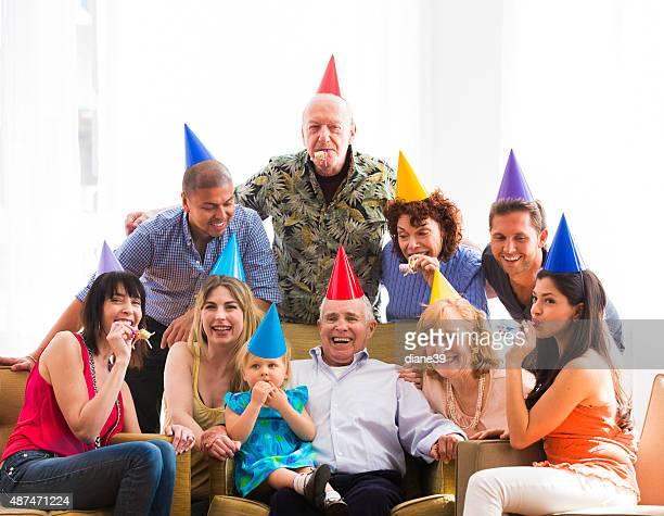 Grandpa fiesta de cumpleaños