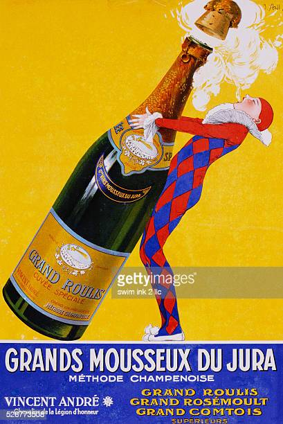 Grands Mousseux du Jura Poster by Stall