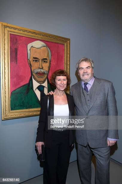 Grandson of Chtchoukine AndreMarc DelocqueFourcaud and guest attend the Private View of 'Icones de l'Art Moderne la Collection Chtchoukine' at...