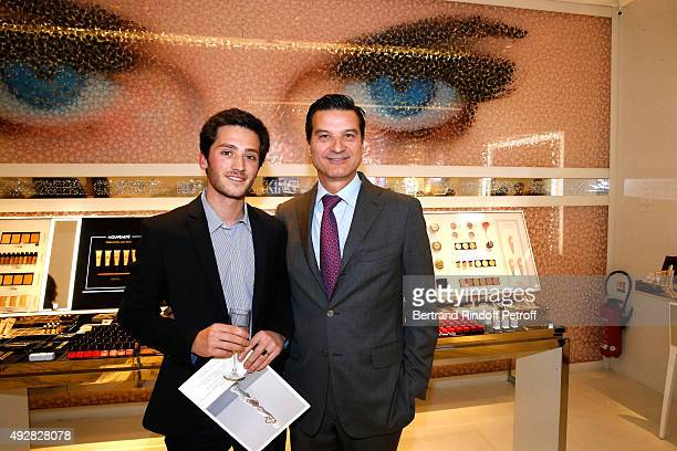 Grandson of Jean-Paul Guerlain, Paul Guerlain and Artistic director and nose of Guerlain Thierry Wasser attend the Opening of the 'Genre Ideal'...