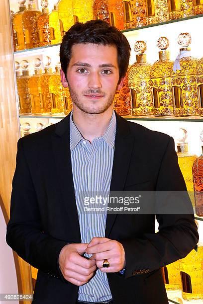 Grandson of Jean-Paul Guerlain, Paul Guerlain attends the Opening of the 'Genre Ideal' Exhibition at Guerlain Flagship Store, Avenue des...