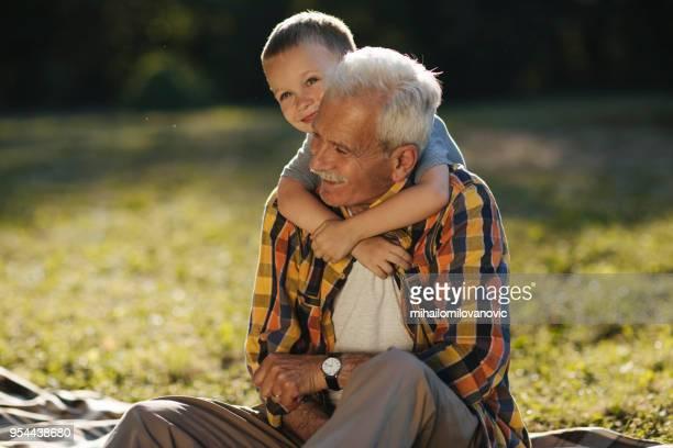 Grandson-grandfather love