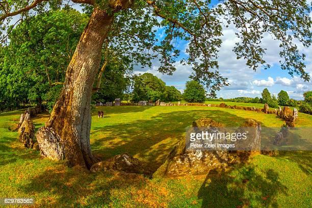 Grange Stone circle in County Limerick, Ireland