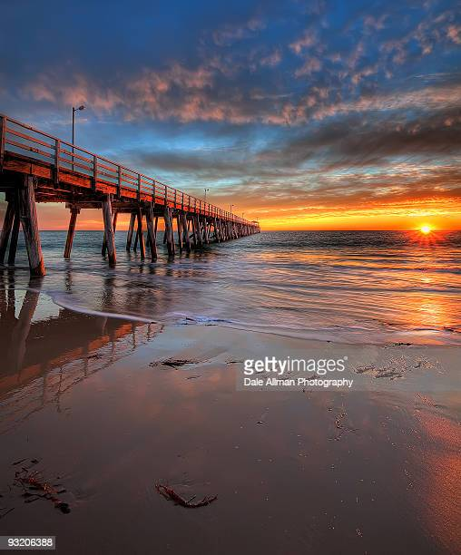 grange sunset - south australia stock pictures, royalty-free photos & images