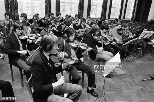 Grangefield Grammar School concert, Stockton-on-Tees, 1975.
