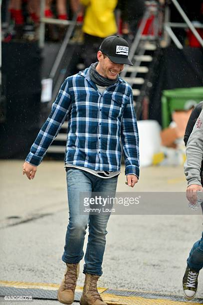 Granger Smith backstage during The 32nd Annual KISS 999 Chili CookOff at CB Smith Park on January 29 2017 in Pembroke Pines Florida