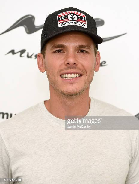 Granger Smith visits Music Choice at Music Choice on August 16 2018 in New York City