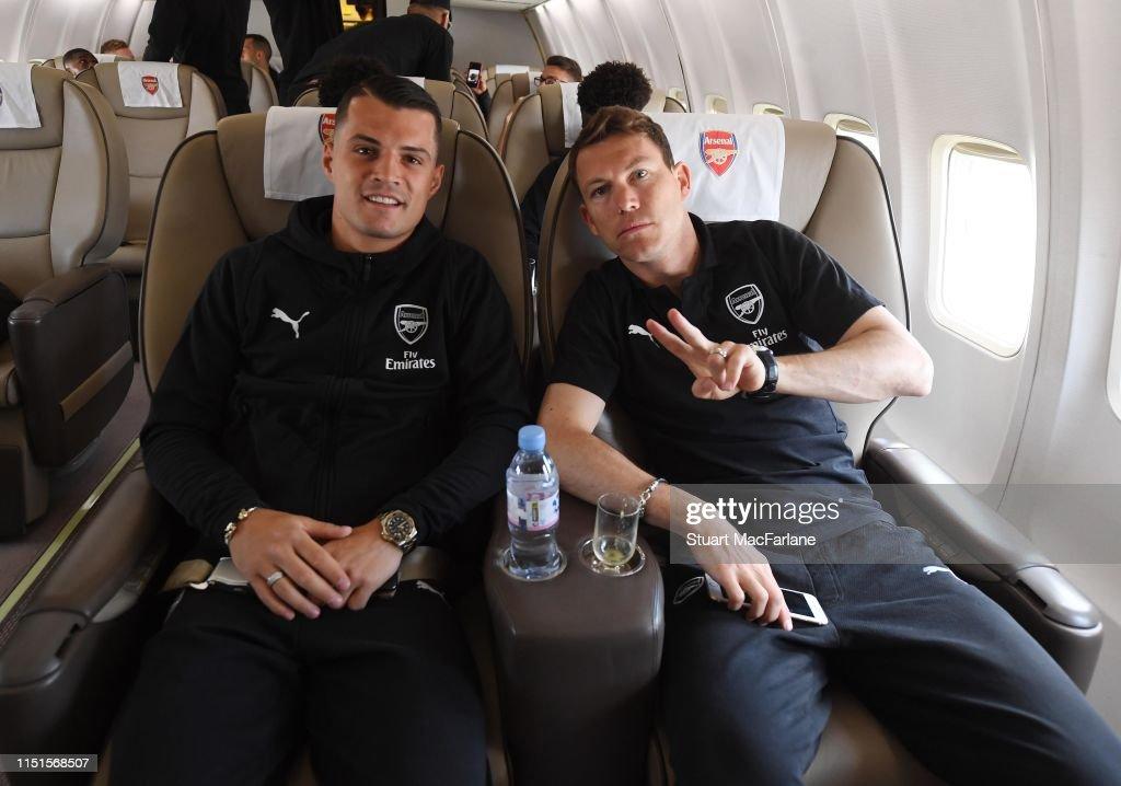 GBR: Arsenal Travel to Azerbaijan for the UEFA Europa League Final