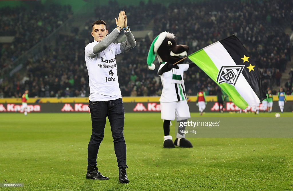 Borussia Moenchengladbach v VfL Wolfsburg - Bundesliga : News Photo