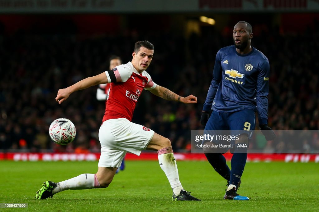 Arsenal v Manchester United - FA Cup Fourth Round : Nachrichtenfoto