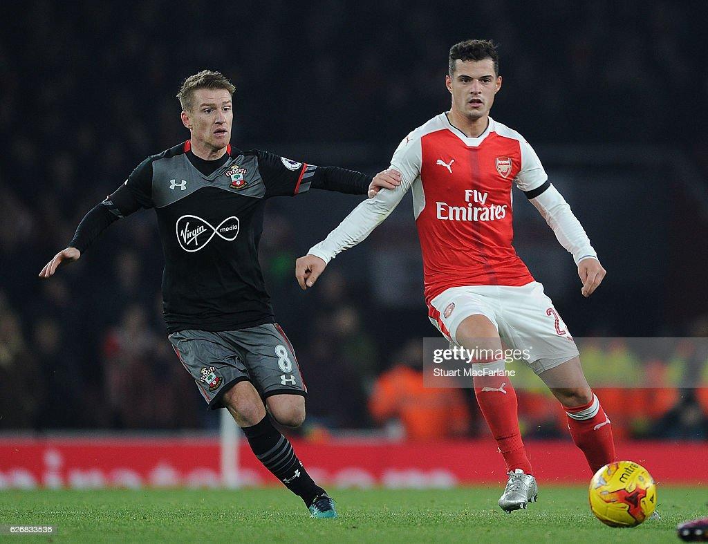 Arsenal v Southampton - EFL Cup Quarter-Final : News Photo