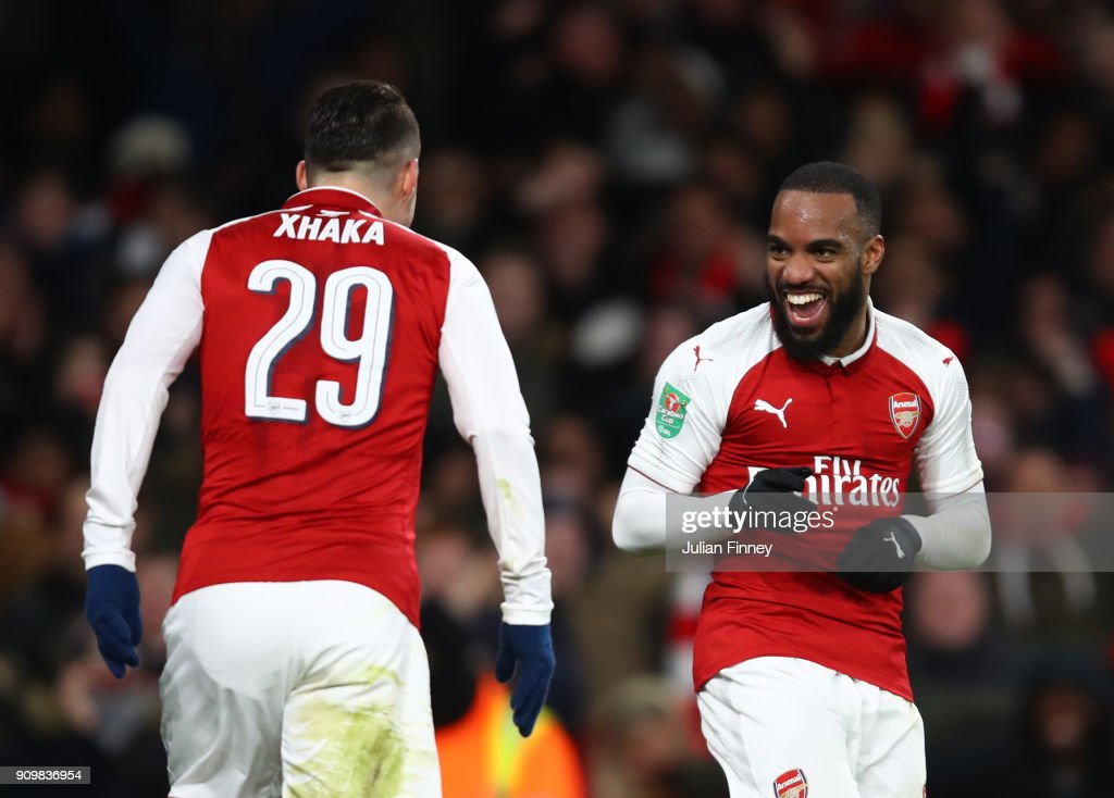 Arsenal v Chelsea - Carabao Cup Semi-Final: Second Leg