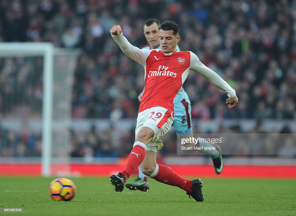 Arsenal v Burnley - Premier League : Foto jornalística